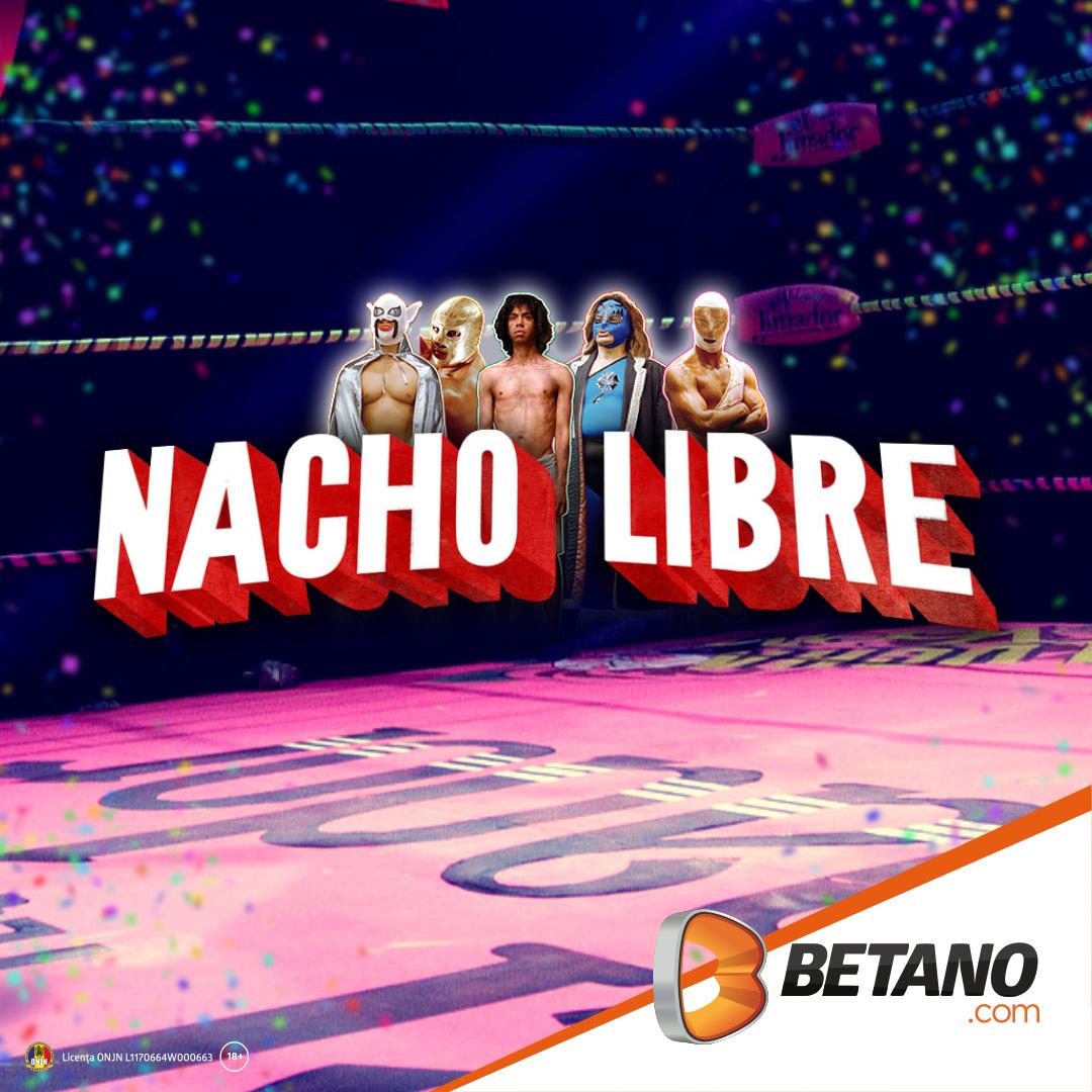 Nacho Libre în Cazinoul Betano